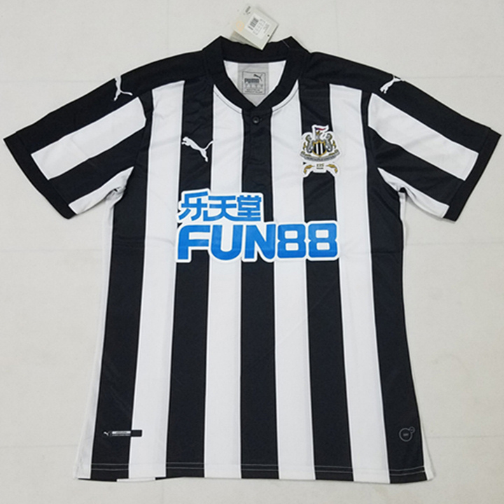 Newcastle United 2017-18 Home Soccer Jersey