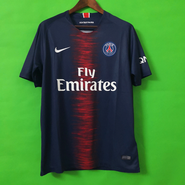 PSG 18-19 Home blue soccer jersey